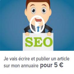 Rédaction et publication sur un annuaire pour 5 euros